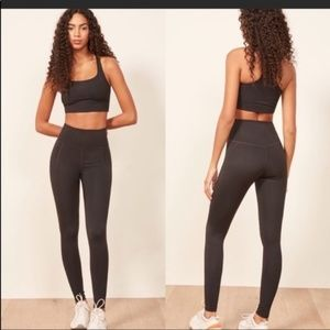 {Girlfriend Collective} Black High Rise Leggings